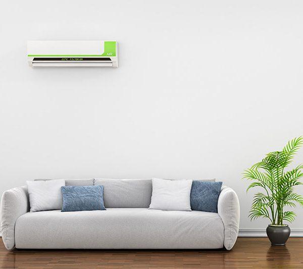 Varmepumpe i stue