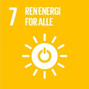 Mål nr 7 - Ren energi for alle
