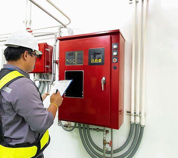 Brannforebyggende kontroll og termografi