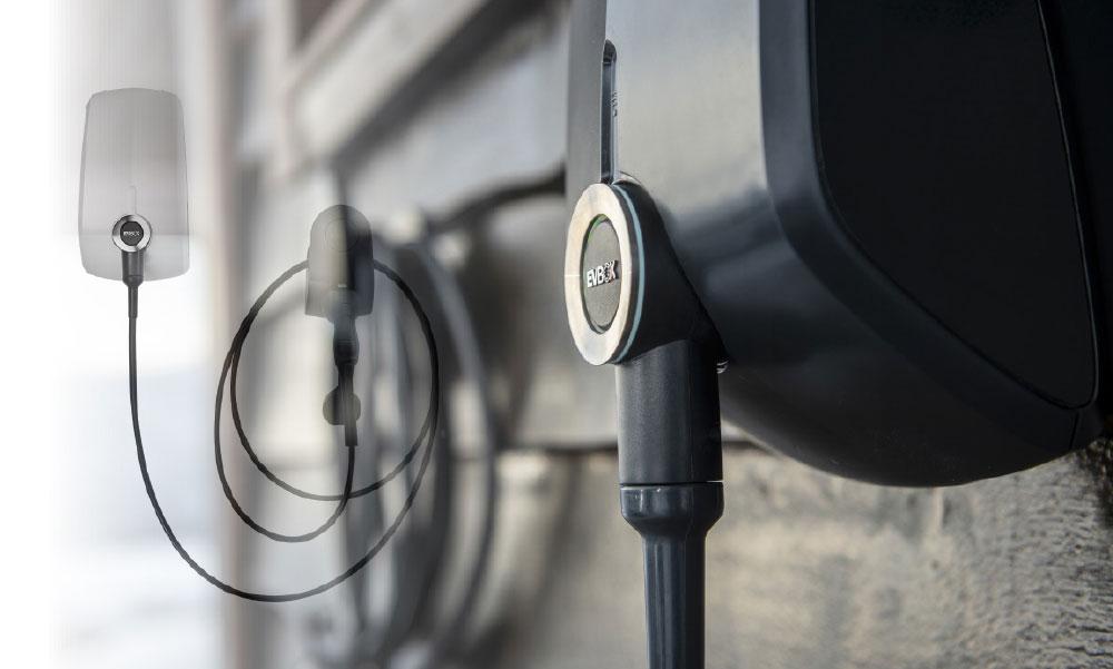 Produktbildet av elbillader EV-Box